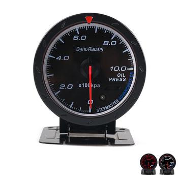 Miernik ciśnienia oleju samochodowego 60mm modyfikacja samochodu część Auto wyścigi samochodowe dostarcza uniwersalny 0-1000 kpa f-best tanie i dobre opinie