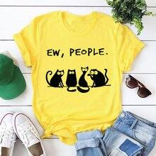 Remeras mujer 2020 feminino verão impressão camiseta de manga curta amarelo tshirt casual camisetas topos ropa coreana femme roupas # yj