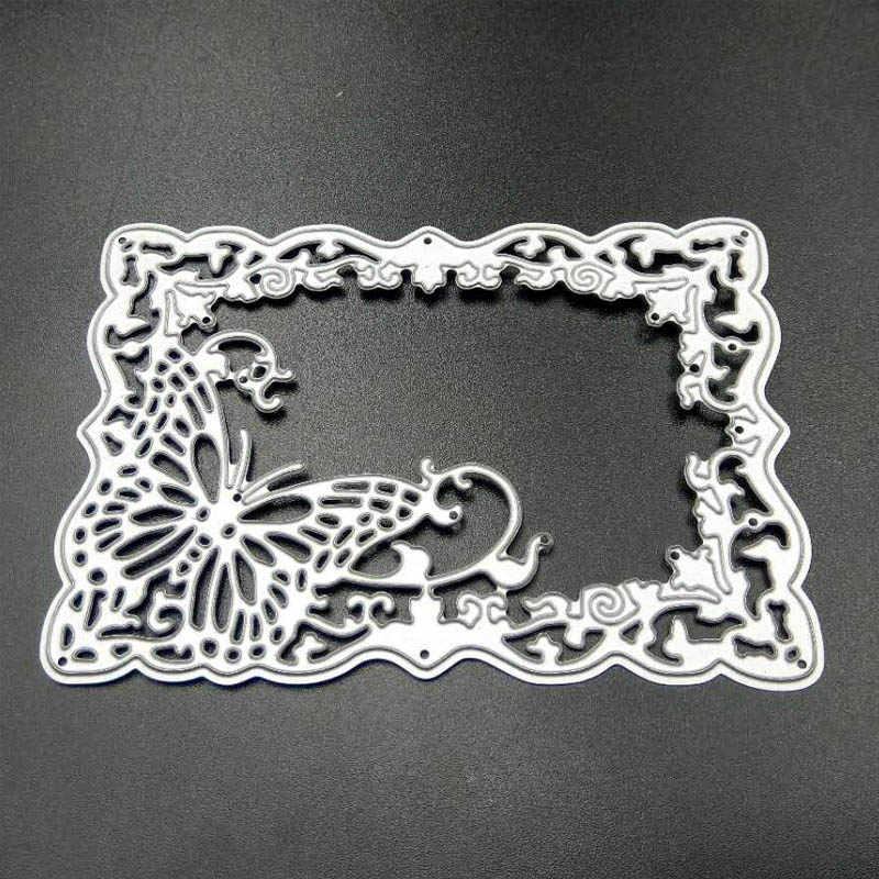 ZATWBS, bonitos troqueles de corte de amor para DIY, troquelador de tarjetas decorativas de grabado en relieve