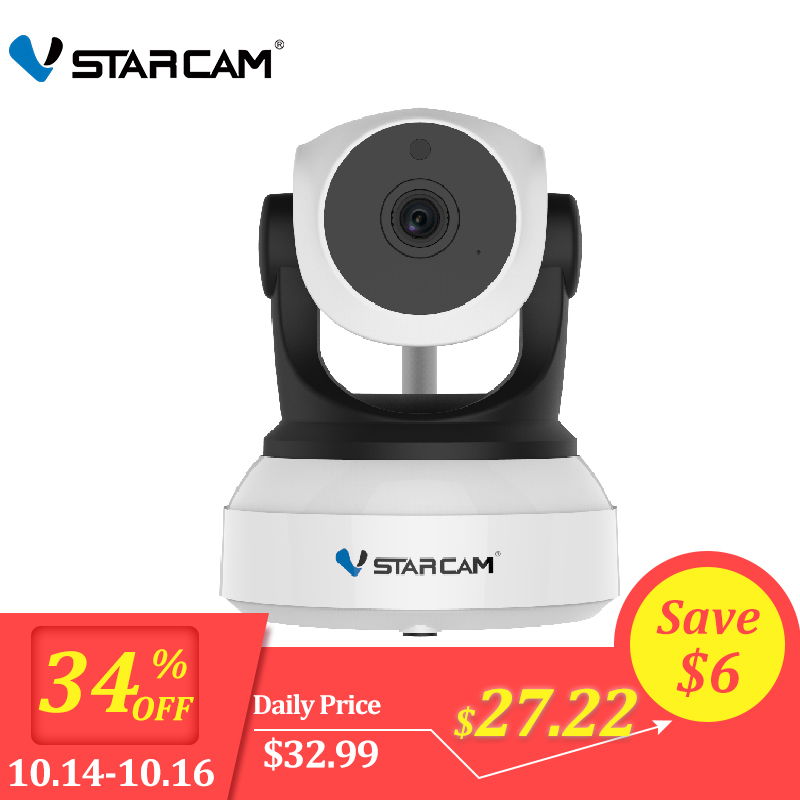 Vstarcam 720p hd wifi - Original Vstarcam 720P IP Camera C7824WIP Wifi Surveillance CCTV Camera Security Camera IR Night Vision PTZ Camera Mobile View