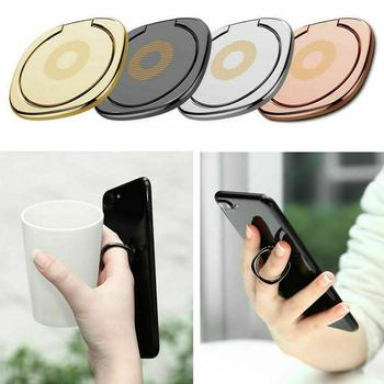 NEW General Phone Finger Ring Holder 360 Degree Stand For iPhone 5S 7 Bague 55 Xiaomi Plus Smartphone Tablet For Samsung image