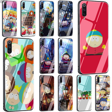 EWAU Anime Southpark Tempered Glass phone case for Xiaomi 5X