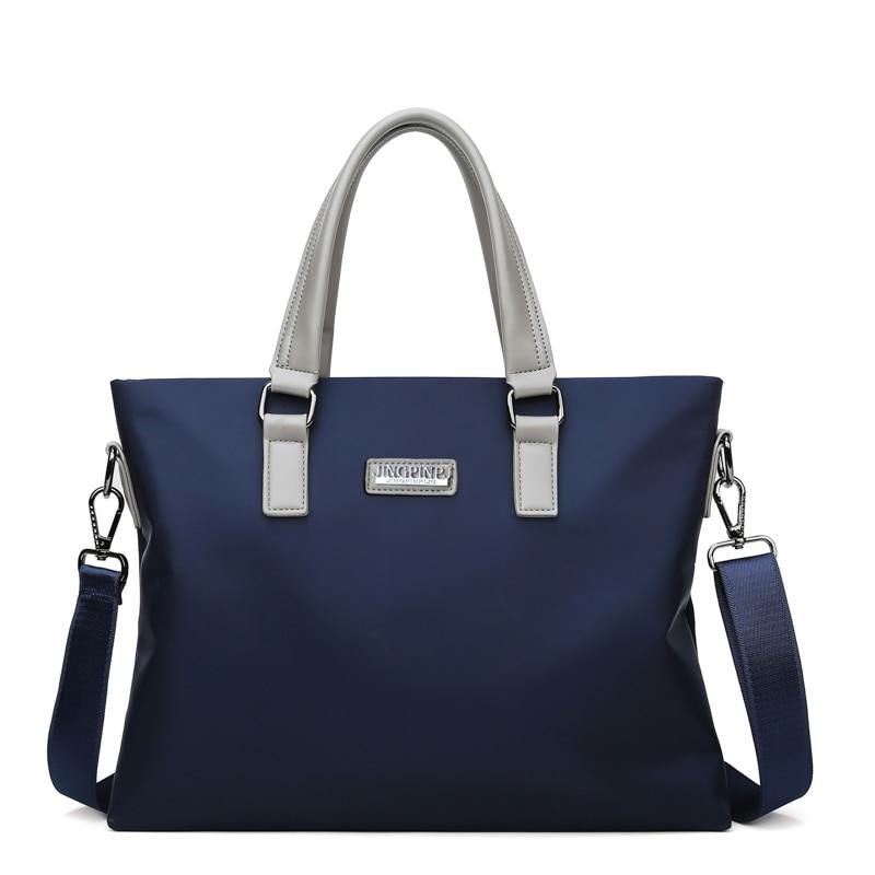 Luxury Designer New Style Men's Briefcase Male Business Bag High Quality Nylon Laptop Bag Fashion Men's Briefcase Shoulder Bag