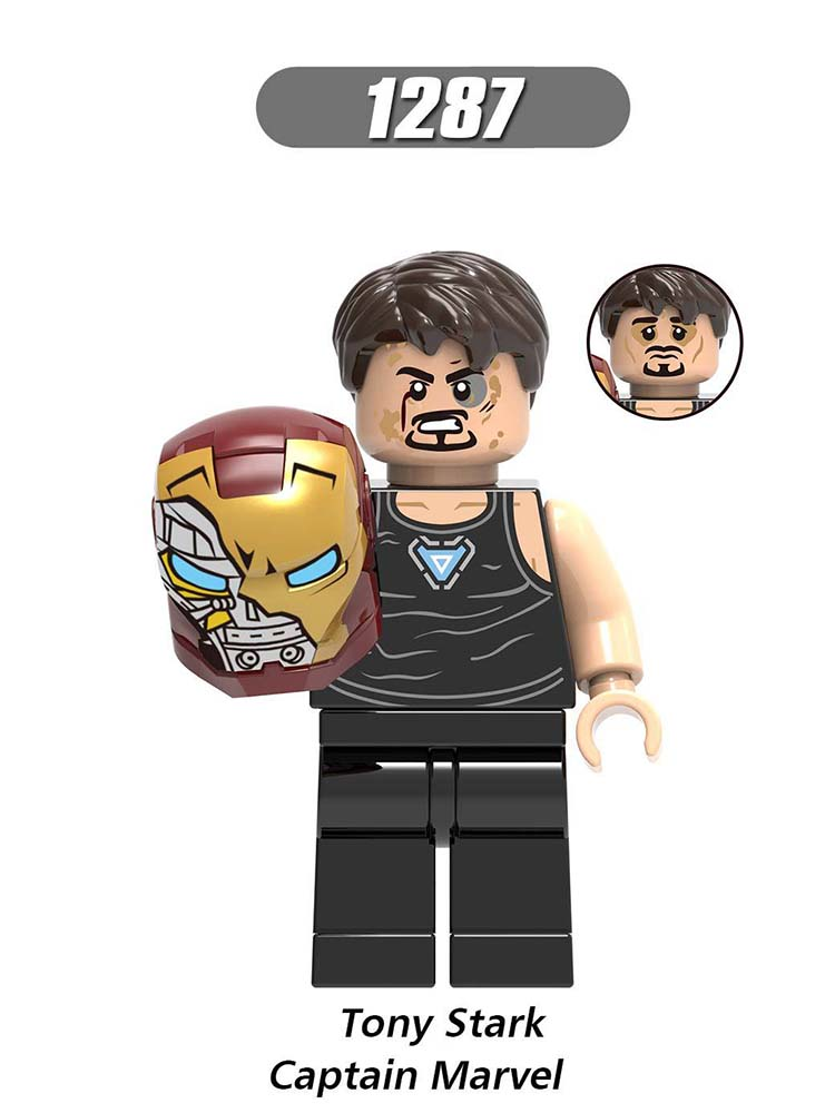 Single Sale LegoINGlys  Super Heroes Far From Home War Machine Tony Stark Captain Marvel  Ancient One Toys For Boys Gift X0261