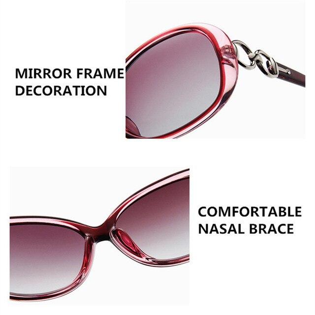 FENCHI-gafas de sol polarizadas blancas para mujer, nuevas, Zonnebril Dames, negras, para conducción nocturna, para hombre 6
