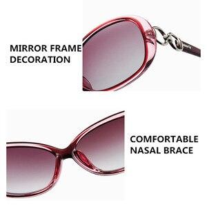 Image 5 - Fenchi Trắng Mới Kính Mát Nữ Zonnebril Dames Đen Kính Chống Nắng Ban Đêm Nữ Lái Xe Gafas Oculos De Sol Masculino