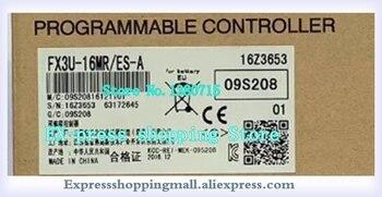 NEW FX3U-16MR FX3U-16MR/ES-A FX3U-16MR ES-A PLC Main Unit DI 8 DO 8 Relay 24V DC FX3U-16MR/ES-A