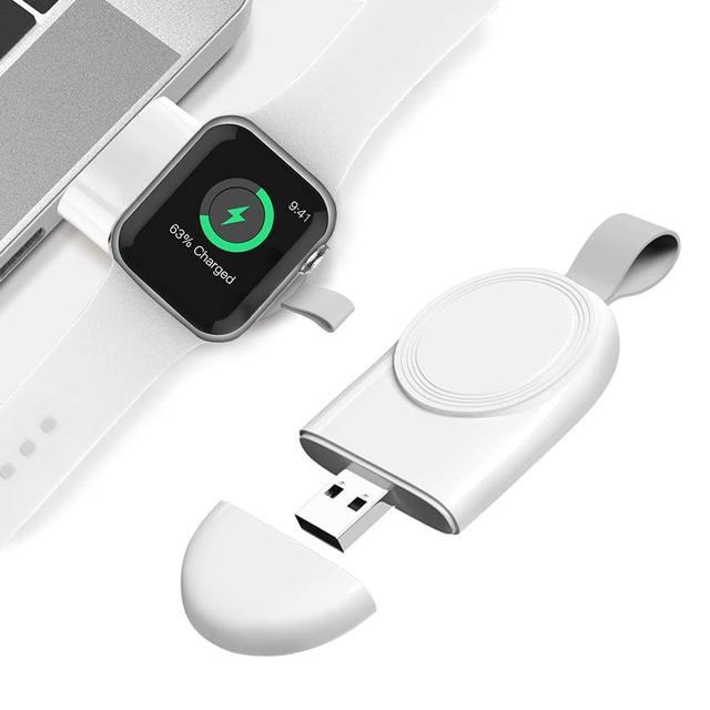Mini Portable Wireless Charger for Apple iWatch 1 2 3 4 5 Dock Adapter Fast Charging Charger Smart Watch Wireless Charging Base 4