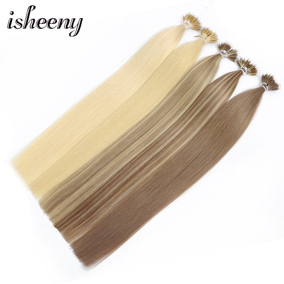 18 Inches European Remy Nano Ring Beads Link Human Hair 50pc 100pc Micro Beads Straight Extensions 0.8g/stand 12 Colors