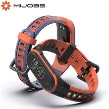 Pour Xiaomi Mi bande 5 Bracelet NFC Silicone Bracelet pour Mi bande 4 poignet intelligent pour Mi bande 3 bracelets Global X Version Correa