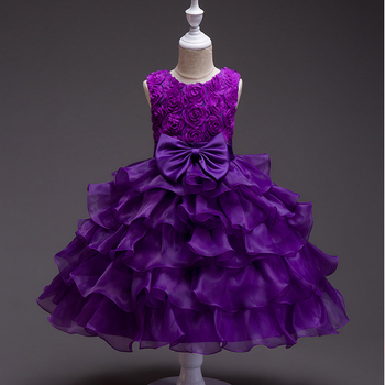 Girl Dress Toddler Princess Wedding Party Kids Tutu Dresses for Girls Clothes Girls Birthday Ball Gown Clothing New 2020 Baby new baby princess flower girl dress lace appliques wedding prom ball gown pink birthday communion toddler kids tutu dress