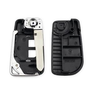 KEYYOU высокое качество 2 BTN модифицированный Раскладной Автомобильный чехол для ключей с дистанционным управлением для SUZUKI SWIFT SX4 ALTO VITARA IGNIS JIMNY Splash