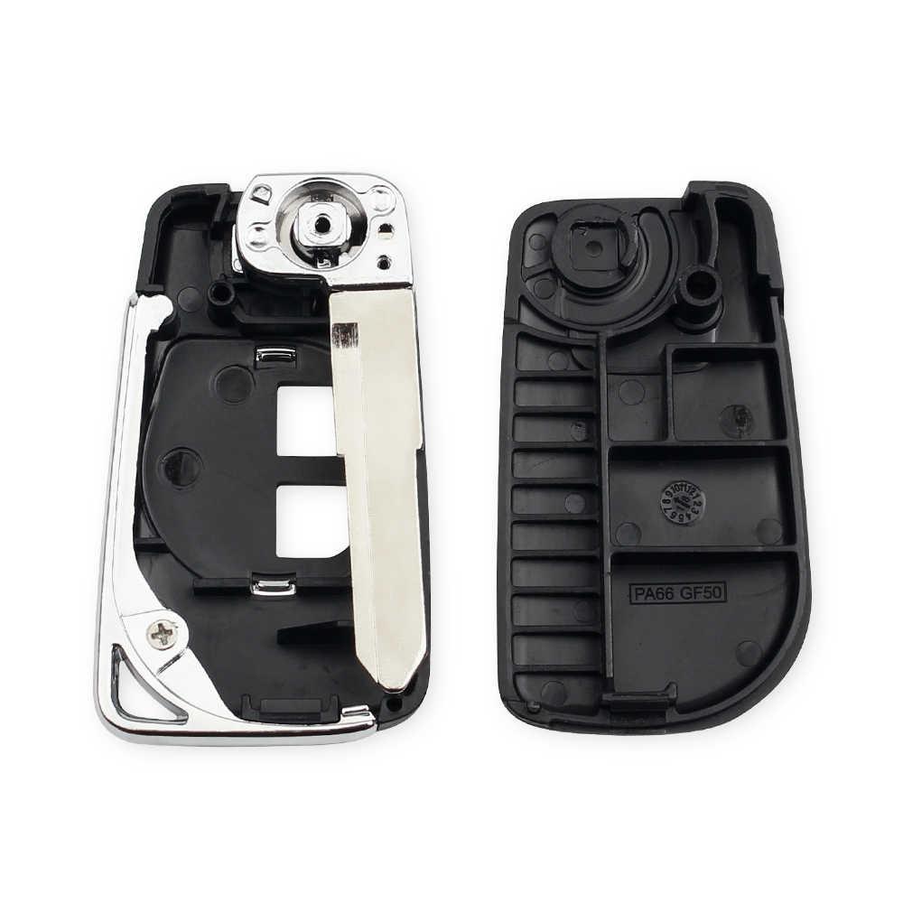 KEYYOU haute qualité 2 BTN modifié rabattable voiture télécommande porte-clés coquille pour SUZUKI SWIFT SX4 ALTO VITARA IGNIS JIMNY Splash