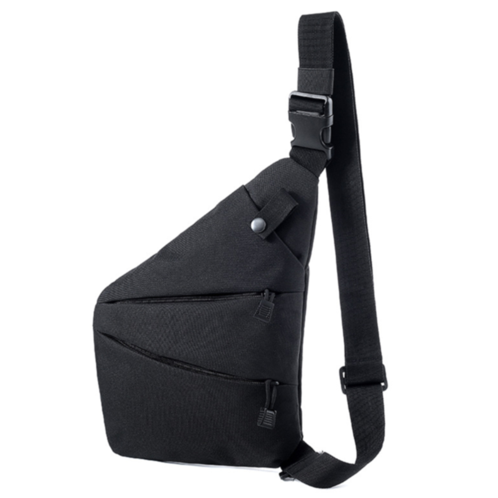 Tactical Invisible Adjustable Strap Multifunctional Mobilephone Anti Theft Holder Chest Bag Glasses Outdoor Sports Men Women