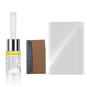 Windshield Repair Kit for Scratch and Crack of Car Window Glass with Curing Glue