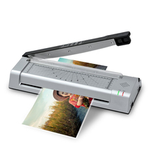 A4 Hot Laminator Laminating Machine Thermal Pouch Laminator with Corner Rounder Home Office Hot and Cold Laminator Machine S420H