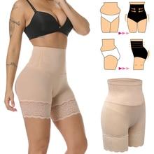 High Waist Shapewear Waist Trainer Tummy Control Reducing Panties Body Shaper Butt Lifter Shaping Modeling Girdles Slim Shorts