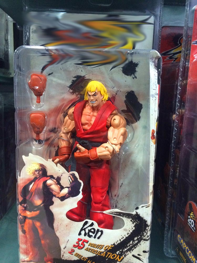 Street Fighter IV Action Figures 18cm 13