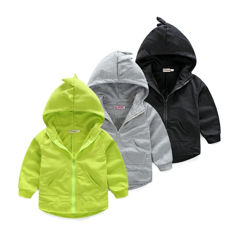 Sweats à capuche pour garçons Sweat-Shirt Dinosaure Unisexe Enfants Bébé Garçons Fille Tout-petits Hoodies Dessin Animé Survêtement Enfants Vêtements Ensemble
