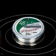 100% фтороуглерод лески нейлон Карп Рыбалка провод Fly рыбы шнур покрыл японский матер