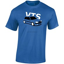 2019 New Summer Style Fashion T-shirt France Classic Car Saxo VTS Inspired Men T-Shirt(2)(China)