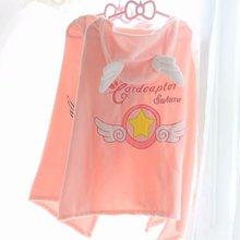 Плюшевая волшебная палочка Sakura с героями мультфильмов; мягкая плюшевая палочка; подарок для девочек; теплая накидка для офиса; одеяло для обеда; Розовая Одежда