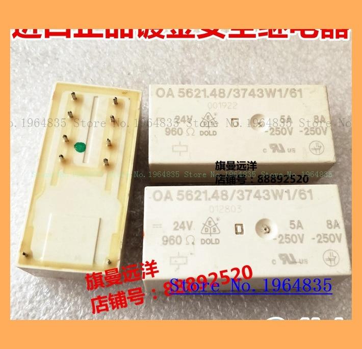 10Pcs OMRON G5NB-1A-E Relay DC5V//12V//24V 5A//250VAC 4Pin PCB SPST-NO