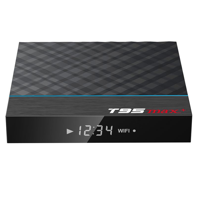 T95 MAX PLUS Android 9,0 Smart TV Box Amlogic S905X3 5G WIFI Bluetooth 4,0 4K Top Box