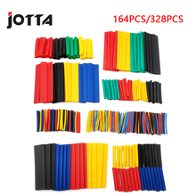 Heat-Shrink-Tubing-Wire-Cable Sleeving 328pcs Assorted Shrinking Polyolefin-Insulation