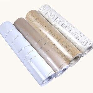 Image 3 - 0.6x3M altın parlak boya DIY dekoratif Film gümüş hattı PVC su geçirmez kendinden yapışkanlı duvar kağıdı eski mobilya yenileme Sticker
