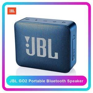 Image 1 - JBL GO2 Беспроводная Bluetooth Колонка IPX7, водонепроницаемая внешняя колонка с возможностью подключения к порту s, перезаряжаемая батарея с микрофоном, порт 3,5 мм, порт S, Go 2