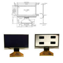 Industrial products 2.4 inch / 2.42 inch OLED display voltag 13V 12864 LCD screen 31PIN SSD1305Z highlight display device