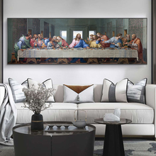 The Last Supper By Leonardo da Vinci Canvas Paintings On the Wall Art Posters And Prints Famous Christ Art Pictures Wall Decor leonardo da vinci thoughts on art and life
