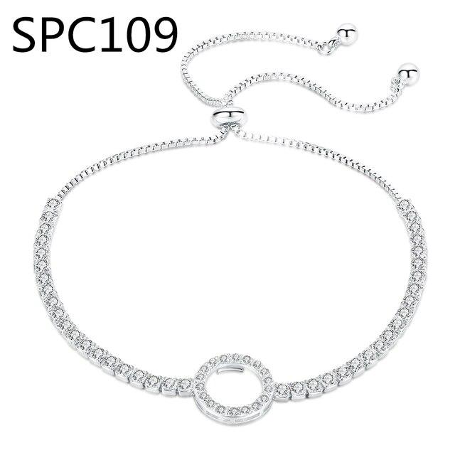 (Sans boîte) SPC6 alliage bricolage Mickey marque Bracelet à breloques ajustement serpent chaîne Murano verre perles Bracelet femmes