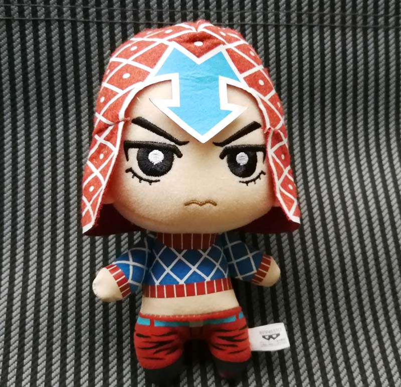 JoJo's Bizarre Adventure Golden Wind Plush Mista Stuffed Plush Toy Doll JAPAN
