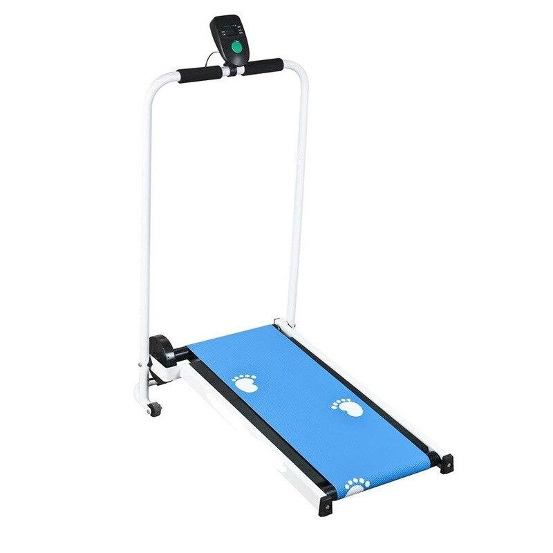 Indoor Mechanical Treadmill Home Mini Runing Machine Foldable Walking Machine Folding Treadmill Indoor Workout Fitness Equipment