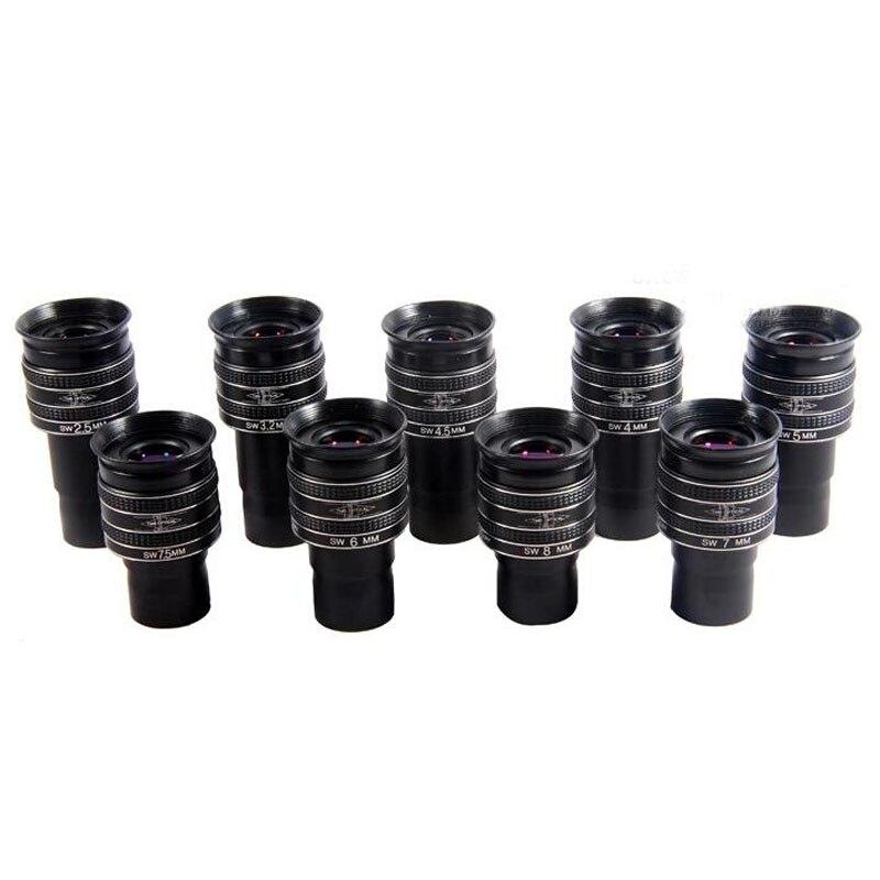 5mm The Price of one Piece 1.25 2.5mm//3.2mm// 4mm//4.5mm //5mm //7mm //7.5mm// 8mm// 9mm 58 Degree Planetary Eyepiece