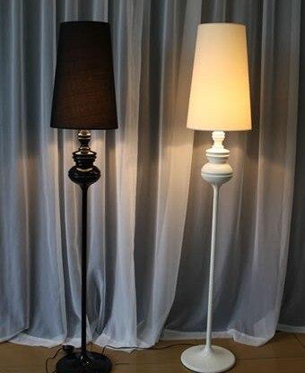 Post-modern Design Floor Lights Fixture Modern Loft Floor Lamp Black/White  Moderne Floor Lamp
