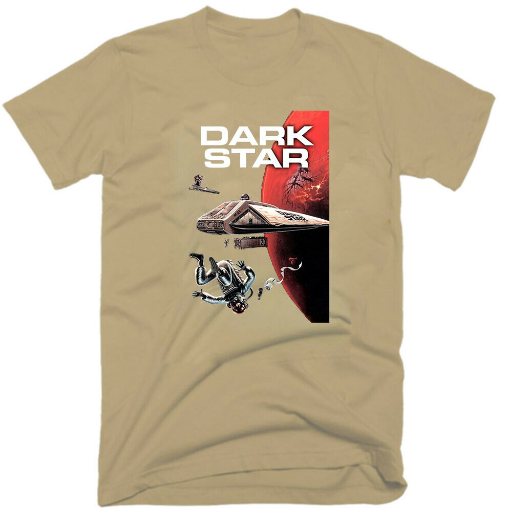 Dark Star Old Movie 1974 Sci Fi Comedy Sizes S 5Xl Mens T Shirt G0625 image