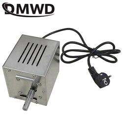 DMWD 110 V/220 V elektryczny automatyczny pieczeń Rotisserie silnik grilla pluć Rotator węgiel drzewny Grill widelec piekarnik oddział palarnia grill narzędzie ue w Rożny od AGD na