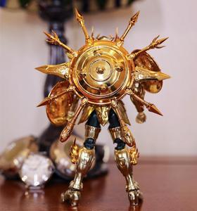 Image 4 - CS modeli aziz Seiya bez efsane ruhu tanrı SOG eski altın terazi Dohko metal kumaş SC014