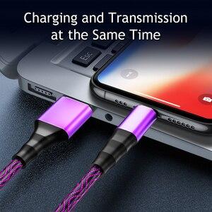 Image 2 - Cáp Micro USB 5A Nylon Sạc Nhanh USB Loại C Cáp Samsung Huawei LG Máy Tính Bảng Di Động Android sạc Điện Thoại Dây