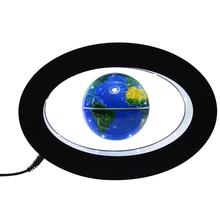 Electronic Anti Gravity Globe Magnetic Levitation Floating Globe World Map with LED Light Children Learning