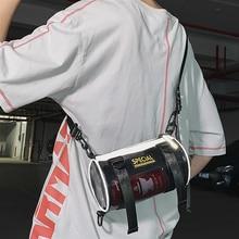 Barrel-Bag Shoulder-Bag Small PCV Japanese Leisure Hot's Tide Ins Student