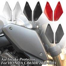 Rama zbiornika na korzystając z łączy z boku Panel obudowa Shell Protector owiewki Bodykit dla Honda CB 650R CBR650R CBR 650R 2019 2020 CB650R akcesoria Moto