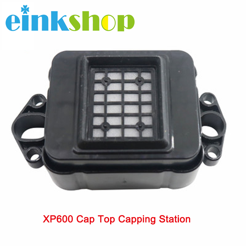 Einkshop For Epson XP600 Cap Top Capping Station for epson TX800 TX810 TX820 TX710 DX8 DX10 Printhead F192040 Print Head