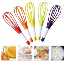 Multi-function plastic manual rotary egg beater foldable butter cooking foamer blender kitchen gadget
