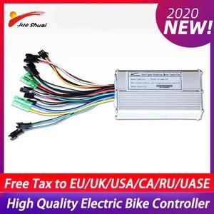 Электрический велосипедный контроллер DC48V 36V 12A/14A/20A, ЖК-дисплей/светодиодный контроллер 250 Вт/350 Вт/500 Вт, бесщеточный двигатель постоянного т...