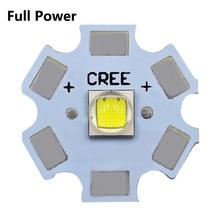 10 Вт автомобильный фонарь, полная мощность, светодиодный, 3 в, 3535, 5050, 1-3W, 5 Вт, 10 Вт, светодиодный фонарик, белый, 6500 К, 10000 К, с 20 мм алюминиевой печатной платой