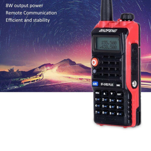 Newest LED Light 4800mah Battery Bf-Uvb2 Baofeng Uvb2 Plus For WalkieTalkie Cb Radio Mobile Comunicador High Power Baofeng 8w B2